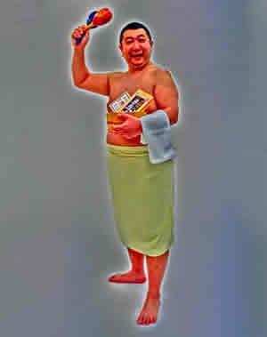 入浴剤ソムリエのパラダイス山元さん