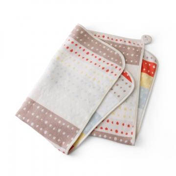 長く使えるのがうれしい「NAOMI ITO」の綿毛布を出産祝いに