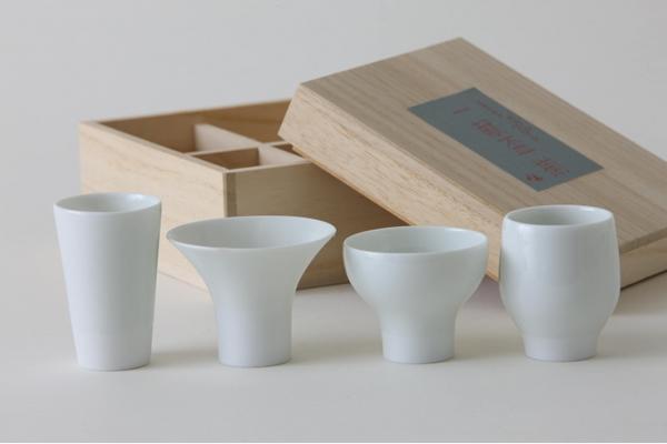 日本酒好きの方へのプレゼントに4種の盃